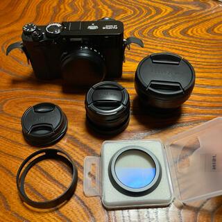 富士フイルム - Fujifilm X100V フルセット(本体・レンズ2種・レンズフード等)