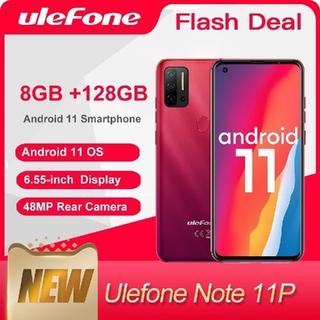 アンドロイド(ANDROID)のulefone note11p 8GB/128GB Android11(スマートフォン本体)