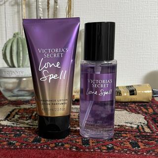 Victoria's Secret - VICTORIA's SECRET ラブスペル フレグランスミスト、ローション