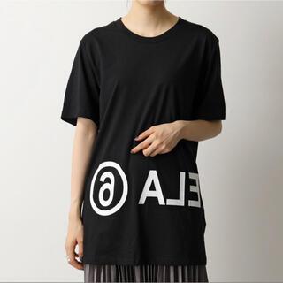 MM6 - MM6 Maison Margiela リバース ロゴT 半袖 Tシャツ
