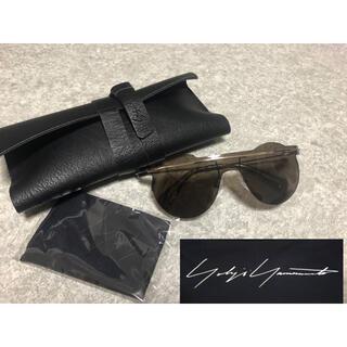 ヨウジヤマモト(Yohji Yamamoto)の新品 ヨウジヤマモト サングラス ケース&眼鏡拭き付き(サングラス/メガネ)
