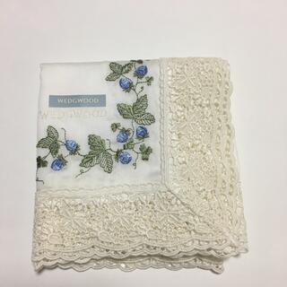 WEDGWOOD - ウェッジウッド❤️ストロベリー ハンカチ 刺繍