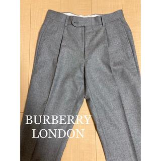 BURBERRY - BURBERRY LONDON バーバリー カシミヤ入りスラックス