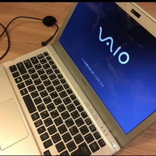 バイオ(VAIO)のキーボード不良ジャンク Vaio Tシリーズ SVT1313AJ(ノートPC)