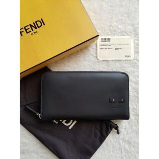 FENDI - FENDI フェンディ Bag Bugs バッグバグズ ジップ 長財布