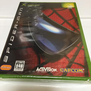 エックスボックス(Xbox)のxbox 新品未開封 スパイダーマン(家庭用ゲームソフト)