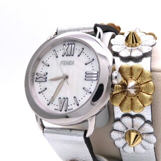 FENDI - 【FENDI】フェンディ 時計 '新型セレリア' 二重巻きブレス ☆極美品☆