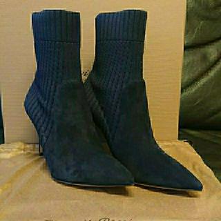 ジャンヴィットロッシ(Gianvito Rossi)の新品、未使用  GIANVITO ROSSIソックス ブーツ(ブーツ)