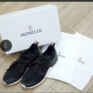 MONCLER - 新品未使用MONCLER モンクレールEMILIENラバーハイカットスニーカー