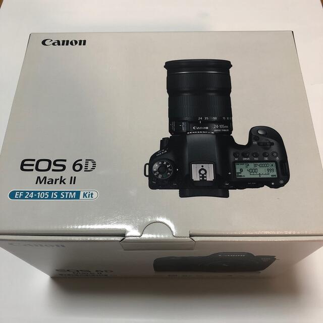Canon(キヤノン)のEOS6D Mark II 24-105 レンズキット新品(yyaoue様専用) スマホ/家電/カメラのカメラ(デジタル一眼)の商品写真