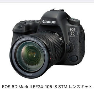 Canon - EOS6D Mark II EF24-105 IS STM レンズキット(新品)