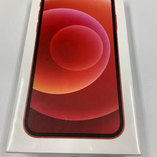 アイフォーン(iPhone)の☆新品未開封☆ 国内版SIMフリー iPhone12 128GB RED レッド(スマートフォン本体)
