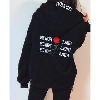 EVRIS - 【EVRIS】GIRLS POWERスウェットプルオーバー