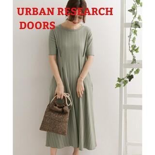 DOORS / URBAN RESEARCH - アーバンリサーチドアーズ 針抜きタックワンピース