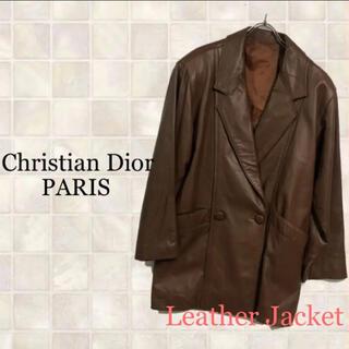 Christian Dior - Christian Dior クリスチャンディオール レザージャケット F