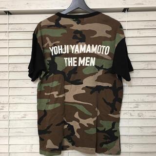 Yohji Yamamoto - Yohjiyamamoto POUR HOMME  10SS カモフラ ロゴ入り
