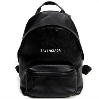 Balenciaga - バレンシアガBALENCIAGAカーフレザーロゴバックパックリュック552379