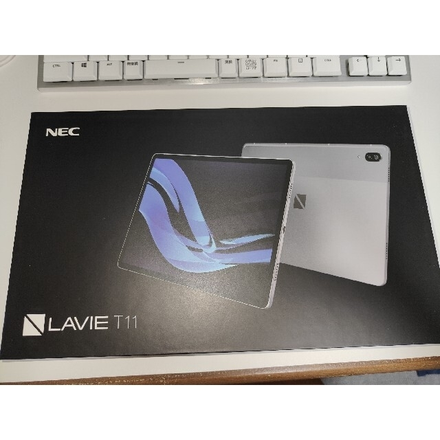 NEC(エヌイーシー)のNEC LAVIE T11 T1195/BAS 純正キーボードカバーセット スマホ/家電/カメラのPC/タブレット(タブレット)の商品写真