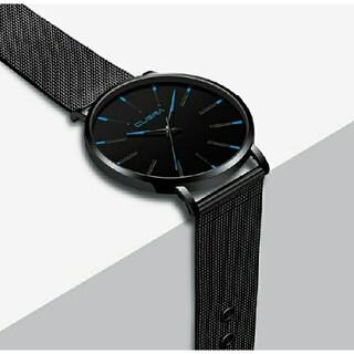 スカーゲン/ベーリング型 CUENA 薄型腕時計 メッシュベルト シンプル(腕時計(アナログ))