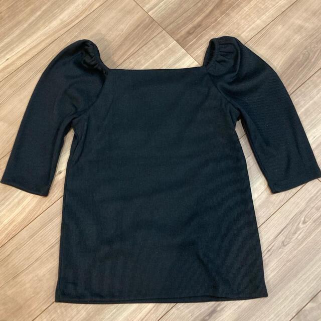 GRL(グレイル)のGRL スクエアネック パワショルトップス レディースのトップス(カットソー(半袖/袖なし))の商品写真