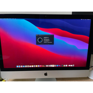 Mac (Apple) - 【美品】iMac 2019 5K 27inch SSD256GB メモリ16GB