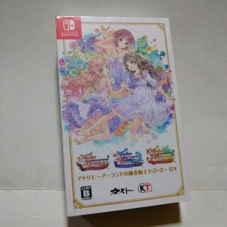 Nintendo Switch - ☆アトリエ アーランドの錬金術士 1•2•3 DX☆