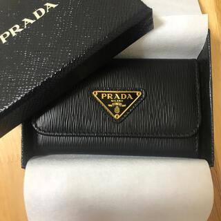 PRADA - 新品同様 極美品 プラダ キーケース カードケース 黒