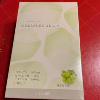 オルビス(ORBIS)のオルビス   コラーゲンゼリー 白葡萄 白ぶどう 置き換え ダイエット 14包(ダイエット食品)