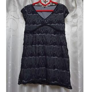 プロポーション(PROPORTION)のproportion カットソー ブラックレース(カットソー(半袖/袖なし))