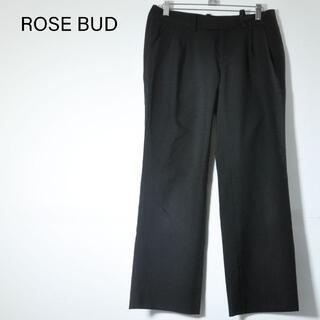 ローズバッド(ROSE BUD)のROSE BUD ブラックパンツ(カジュアルパンツ)