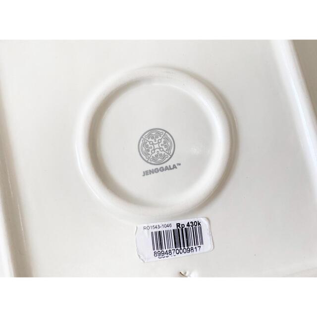 Jenggala(ジェンガラ)のJENGGALA ジェンガラ プルメリア ハワイアン 大皿 インテリア/住まい/日用品のキッチン/食器(食器)の商品写真