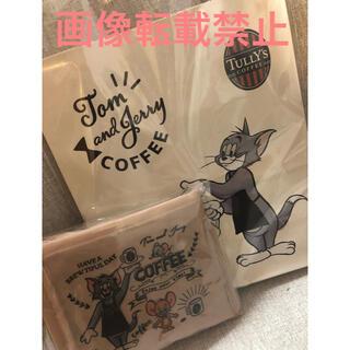 タリーズコーヒー(TULLY'S COFFEE)のタリーズトムとジェリーエコバック ショッピングバック(エコバッグ)