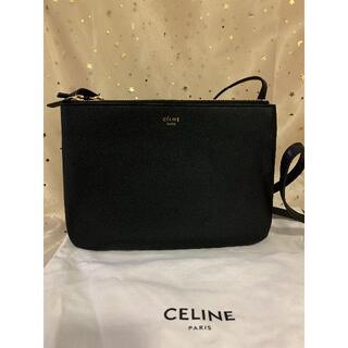 celine - 正規品 CELINE セリーヌトリオラージ ブラック