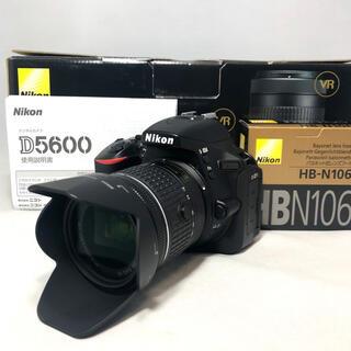ニコン(Nikon)のNikon D5600 AF-P18-55レンズKIT 5234ショット美品(デジタル一眼)