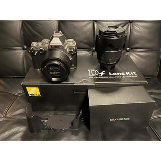 Nikon - 極美品 Nikon Df レンズキット シルバー おまけ多数