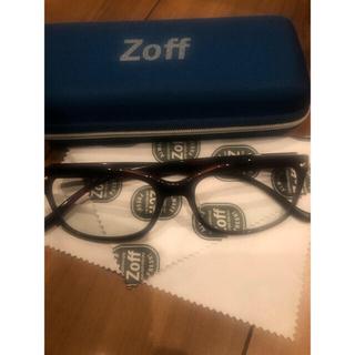 Zoff - 最終値下げ☀️🕶紫外線100%カット🕶☀️クリアサングラス[通勤時にも]
