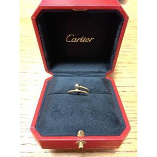 Cartier - Cartier カルティエ ジュストアンクルリングSM ピンクゴールド ♯50
