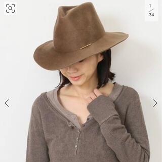 ドゥーズィエムクラス(DEUXIEME CLASSE)のJANESSA LEONE/ジャネッサレオン HAT with PIN(ハット)