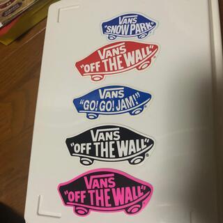 ヴァンズ(VANS)のvansステッカー 5枚セット(スケートボード)