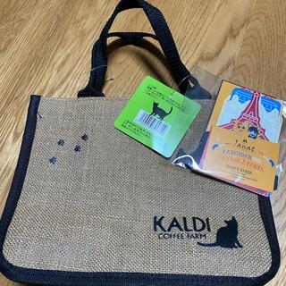 カルディ(KALDI)のカルディ 猫の日バック カレンダー(トートバッグ)
