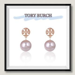 Tory Burch - TORY BURCH★トリーバーチ パールピアス (ピンクゴールド)