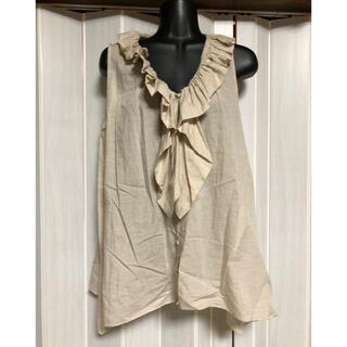 サクラ(SACRA)のsacra ノースリーブシャツ (カットソー(半袖/袖なし))