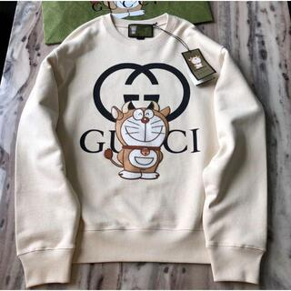 Gucci - GUCCI x DORAEMON グッチ ドラえもん 牛柄 スウェット