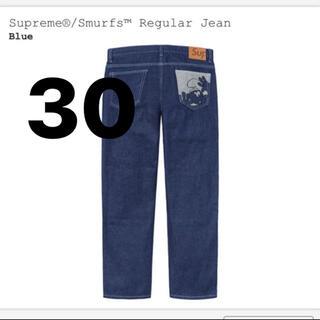 シュプリーム(Supreme)のSupreme Smurfs Regular Jean Indigo 30(デニム/ジーンズ)