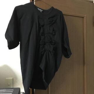 ジュンヤワタナベコムデギャルソン(JUNYA WATANABE COMME des GARCONS)のリボンT(Tシャツ(半袖/袖なし))