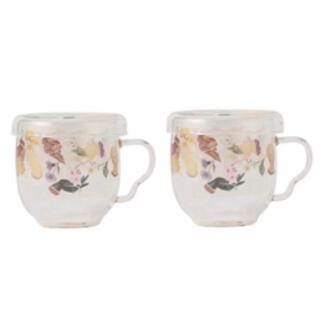 フェイラー(FEILER)の新品☆フェイラー アミカルモン ガラスカップ 2個セット ノベルティ(グラス/カップ)