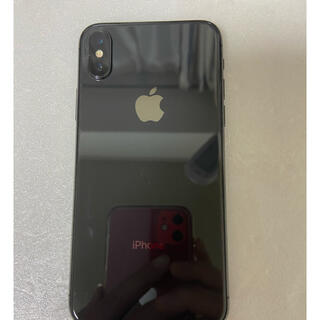 アイフォーン(iPhone)のiPhone X Space Gray 256GB Sumフリー(スマートフォン本体)