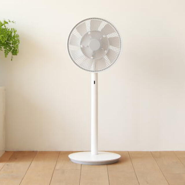 BALMUDA(バルミューダ)のバルミューダ EGF1700 ホワイトx グレー スマホ/家電/カメラの冷暖房/空調(扇風機)の商品写真