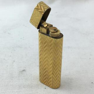 カルティエ(Cartier)のCartier カルティエ ガスライター ゴールド タバコグッズ 小物 メンズ(タバコグッズ)