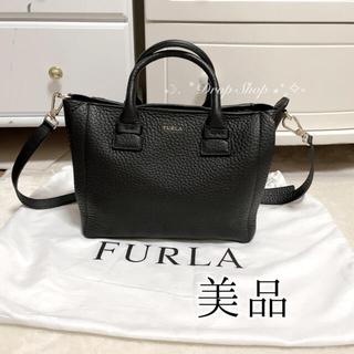 Furla - 𓊆 未使用美品 柔らかレザー♡ FURLA カプリッチョS バッグ 黒𓊇